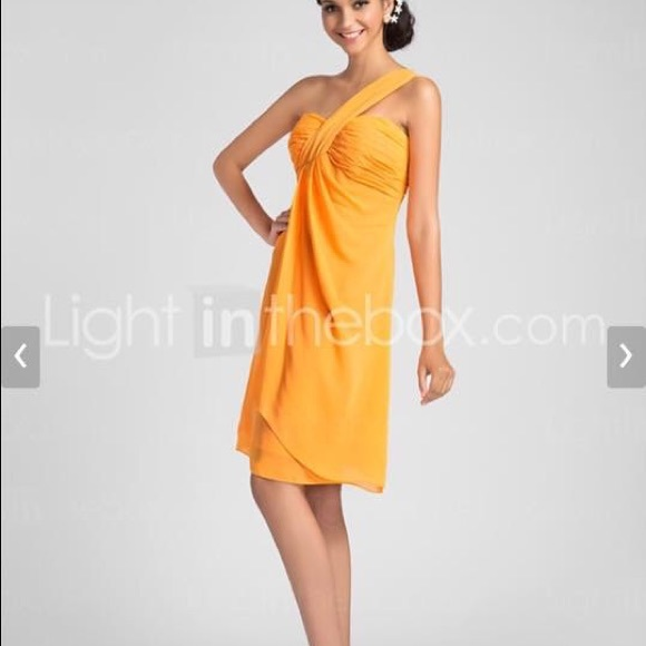 Light in the Box Dresses | Formal Or Prom Dress Tangerine Color ...